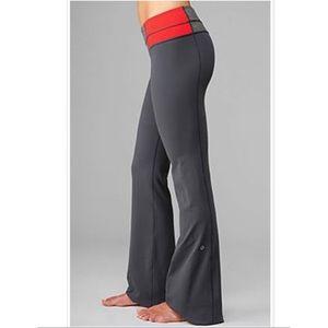 Lululemon Groove Reversible Gray pants